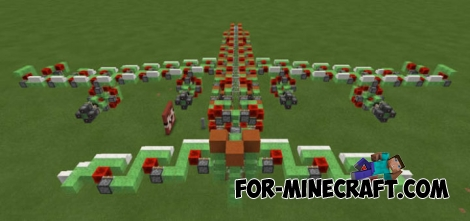 Slimeblock Gunship map for MCPE 0.15.6