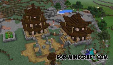 Life mod for Minecraft PE 0.15