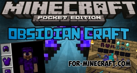ObsidianCraft mod for Minecraft PE 0.15.5/0.15.6