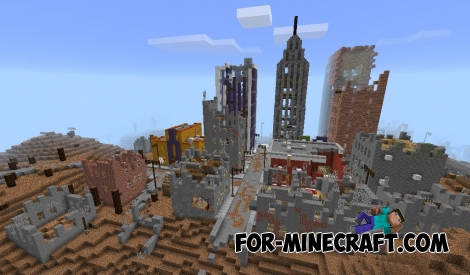 Apocalypse Manatory map v2 for Minecraft PE 1.1