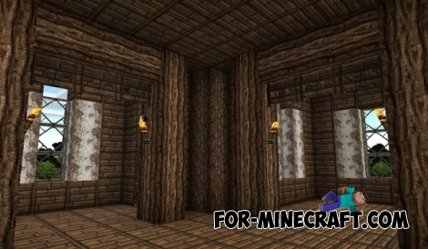 Simple Medieval House for Minecraft PE 0.15