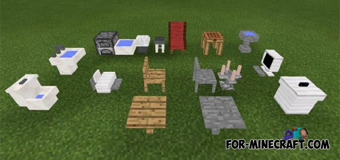Voxelation mod for minecraft pe for Decoration mod mcpe 0 14 0