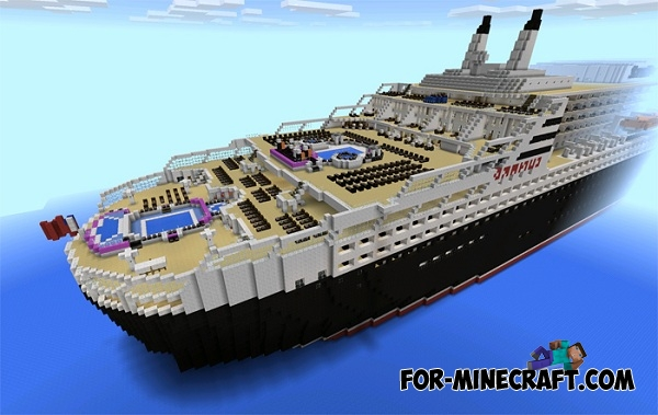Queen mary 2 map for minecraft pe for Garderobe queen mary 2