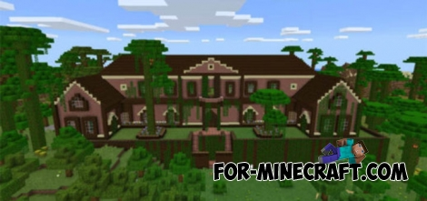Rugged jungle mansion for Minecraft PE 0.15.7/0.16.0