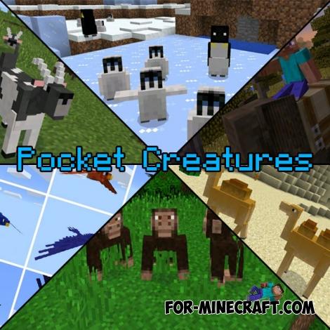 Pocket Creatures Mod for Minecraft PE 0.15.0/0.15.7