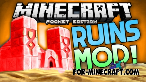 Ruins mod for Minecraft PE 0.15.0/0.15.7