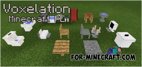 Voxelation mod for Minecraft PE 0.15.8/0.16.0