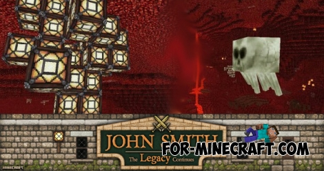 John Smith Legacy for Minecraft PE 0.16.0/0.17.0 (1.0)