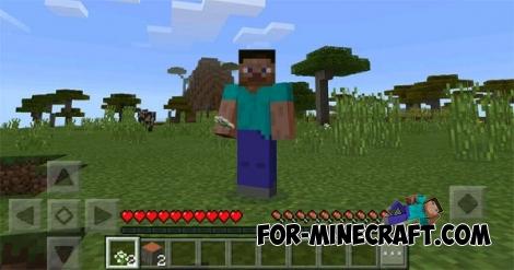 PC GUI mod for Minecraft PE 0.16.0