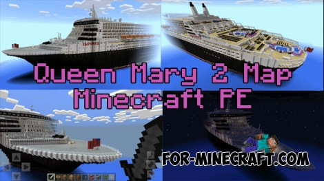 Queen Mary 2 map for Minecraft PE 0.16.0