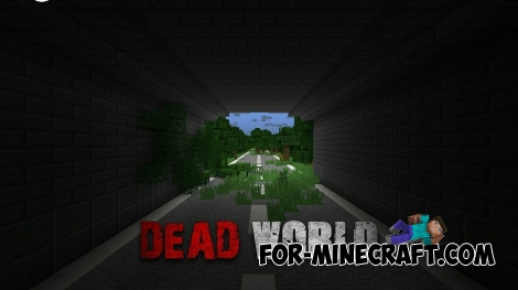 Dead World map for Minecraft PE 0.15.0-0.15.9