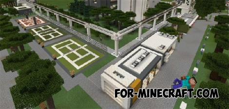 NXUS Modern map for Minecraft PE 0.15/0.16.0