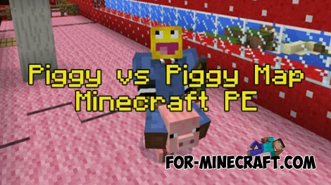 Piggy vs Piggy map for Minecraft Pocket Edition 0.16
