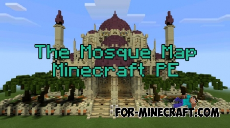 The Mosque map for Minecraft PE 0.15.10/0.16.0