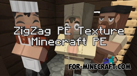 ZigZag PE Texture for Minecraft PE 0.16.0