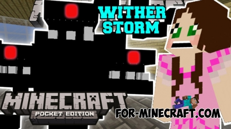 Wither Storm addon for MCPE 0.16.0