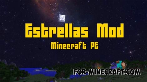 Estrellas mod for Minecraft PE 0.16.0