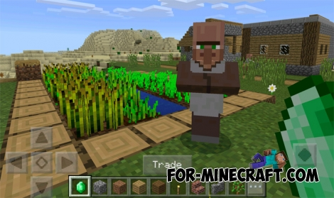 Trading system in minecraft pe