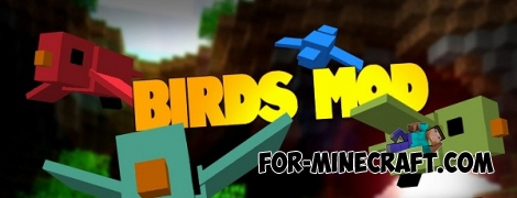 Birds addon for Minecraft PE 0.16