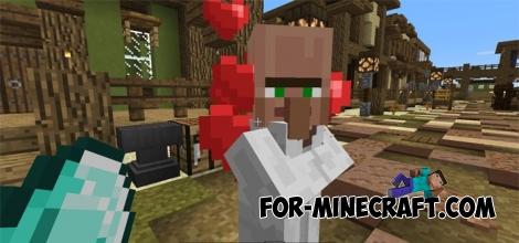 Villager Companion Addon v2 for MCPE 0.17.0