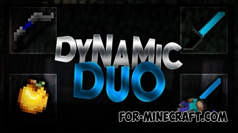 DynamicDuo textures (2in1) for MC:PE 1.1.4
