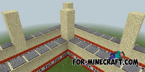 Pressure plates parkour map for MCPE 0.17.0