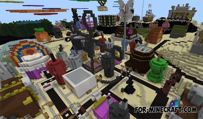 Map Bikini Bottom City » Minecraft PE