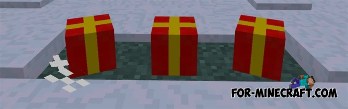 Christmas Decorations In Minecraft Pe : Christmas gifts mod v for minecraft pe