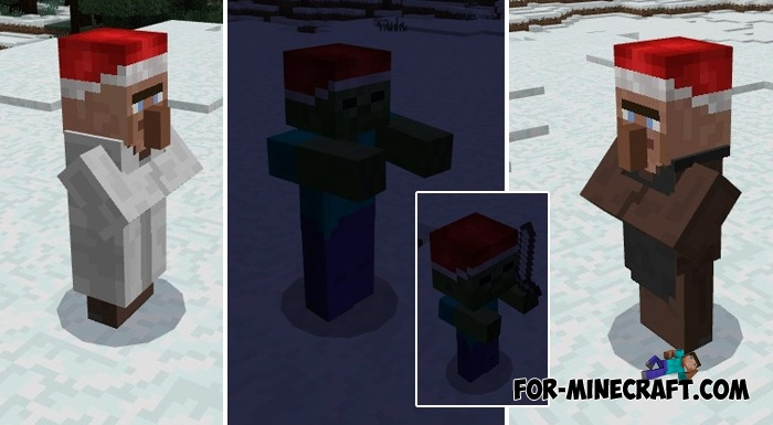 Christmas Decorations In Minecraft Pe : Christmas texture pack for minecraft pe