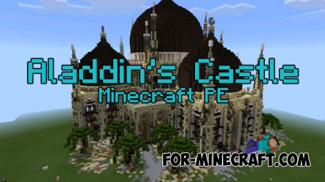 Aladdin's Castle map for Minecraft PE 0.16.0 - 0.17.0