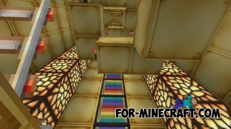 Funny tests map for Minecraft PE 0.17.0