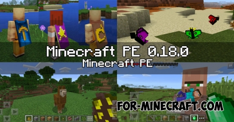 Minecraft PE 0.18.0 (MCPE 1.1) - new features