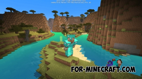 Energy Shaders for Minecraft PE 0.16.0/0.17.0 (1.0)