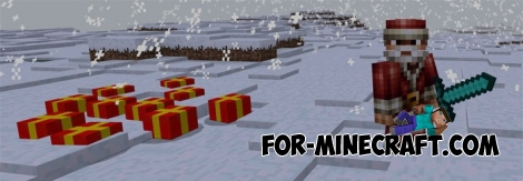 Christmas Gifts mod v2 for Minecraft PE 0.17.0/1.0.0