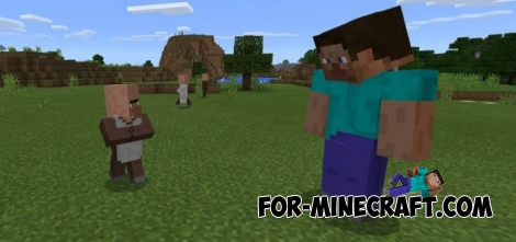 Giga Players mod for Minecraft PE 1.2