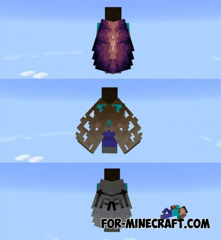 More Elytra mod v3 for Minecraft PE 1.0/0.17.0