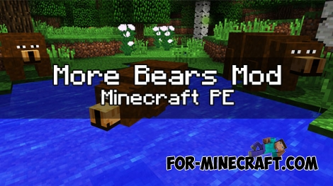 More Bears mod for Minecraft PE 1.0/0.17.0