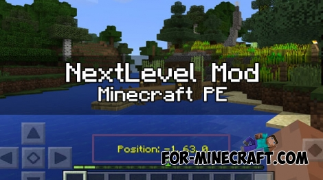 NextLevel mod for MCPE 1.0/0.17.0