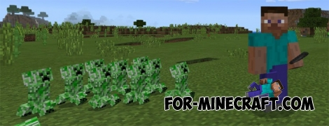 Crepeer Boss mod for MCPE 1.0.0/0.17.0