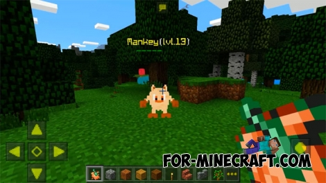 PokeCraft mod for Minecraft PE 1.0/1.2 [Full ver]
