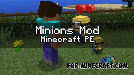 Minions mod v3 for Minecraft PE 1.0.0/1.1