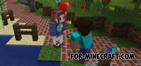 Girlfriends Addon v2 for Minecraft PE 1.0/0.17.0