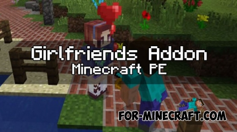 Girlfriends Addon v2 for Minecraft PE 1.0/0.17.0
