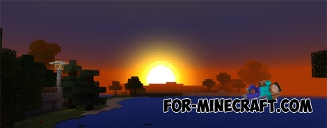 SSPE shader pack v10.9 for Minecraft PE 1.0.0/1.1.4