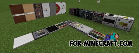 Futuristic (2101) texture pack for Minecraft PE 1.0 (0.17)