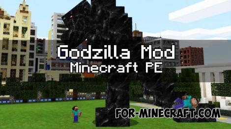 Godzilla mod for Minecraft PE 1.0.0 (0.17.0)