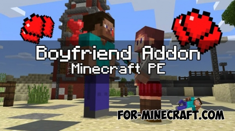 Boyfriends Addon for Minecraft PE 1.0 (0.16/0.17.0)