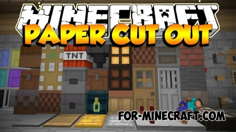 Paper Cut-Out texture pack [MCPE 1.0.0/0.17.0]