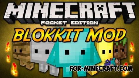 Blokkit mod v5.1 for Minecraft PE 1.0.0 / 0.17.0