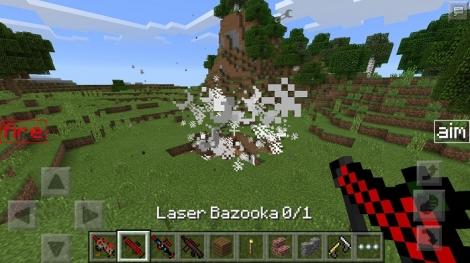 Laser Guns mod r004 for Minecraft PE 1.0.0/1.0.2